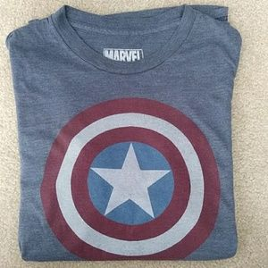Marvel Captin America T-Shirt Sz M